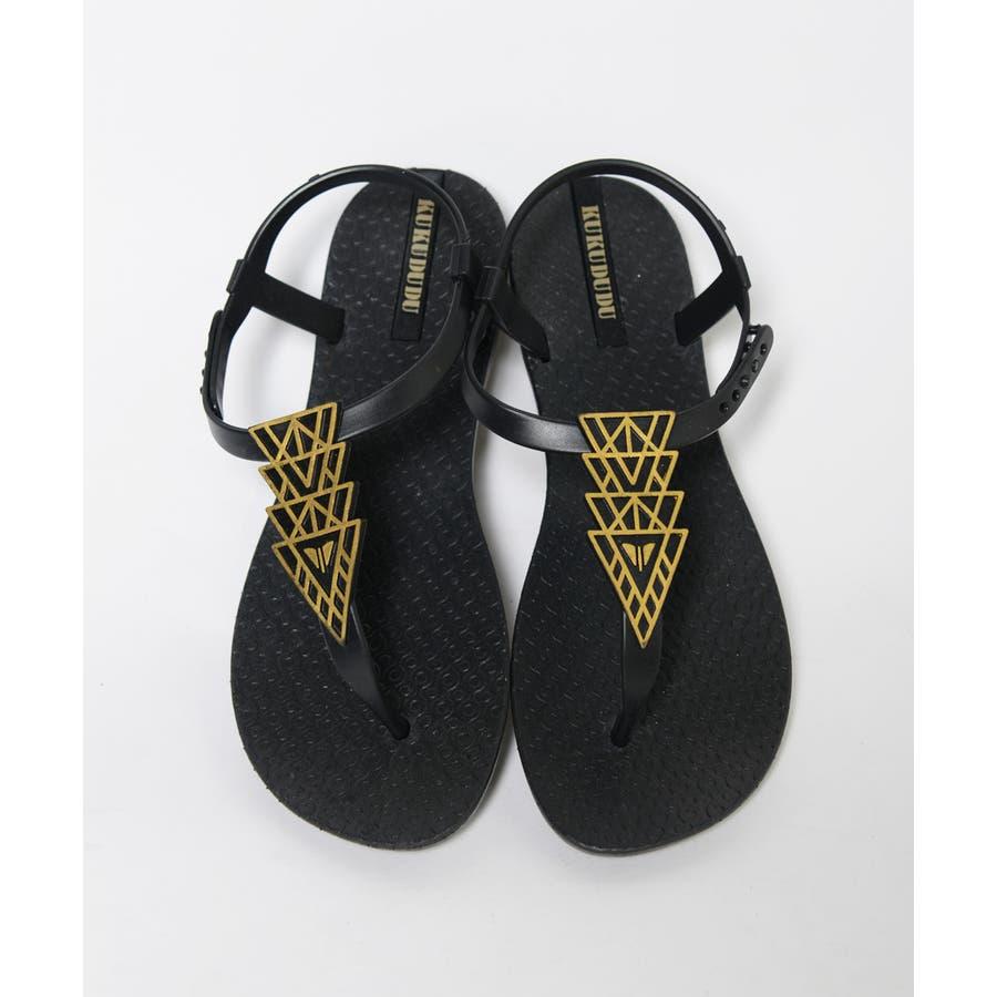 春新作 トングサンダル 靴 4