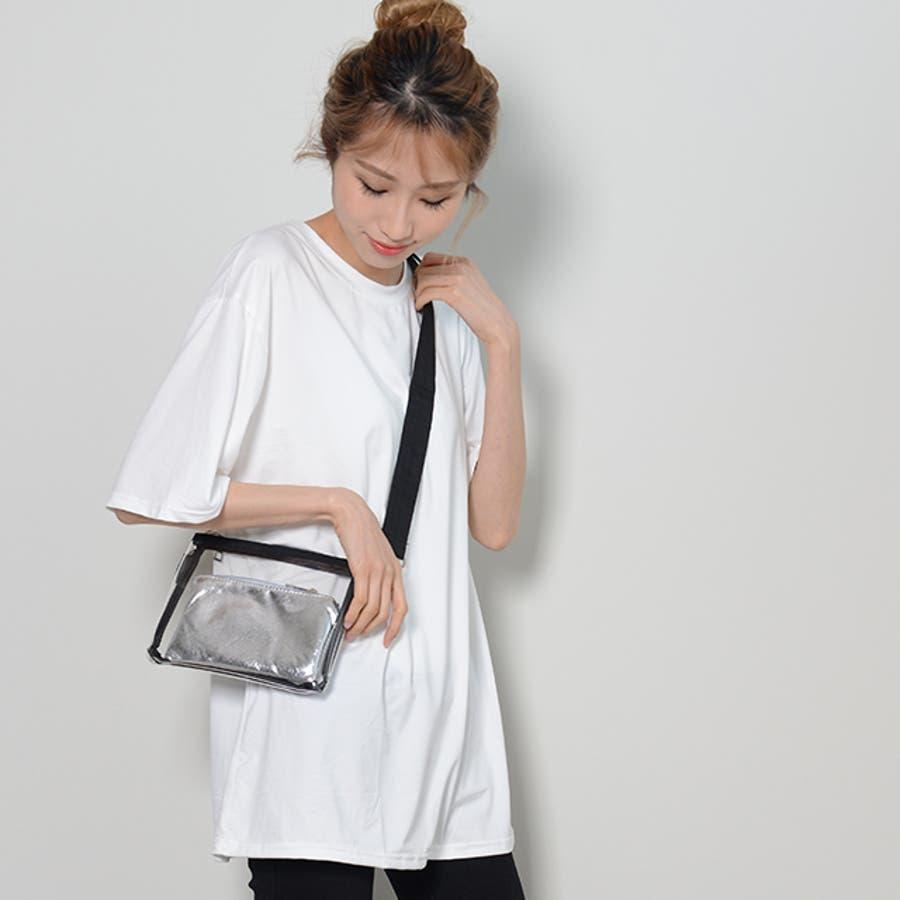 冬新作 BIGシルエットTシャツ ma トップス Tシャツ カットソー ホワイト BIG 大き目 オーバーサイズ レディース韓国ファッション 7