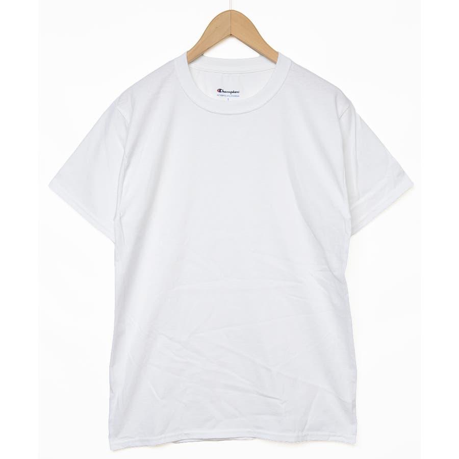 秋新作 チャンピオンTシャツ ma トップス Tシャツ カットソー チャンピオン Champion 半袖 オーバーサイズ大き目めシンプル レディース 韓国ファッション 4