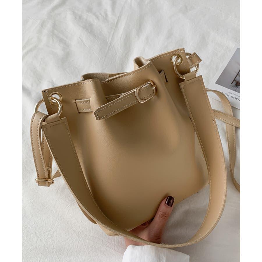 秋新作 ベルト2wayバッグ ショルダー ハンド 2way バッグ 鞄 ベルト ナチュラル 上品 トレンド 韓国ファッションレディース 46