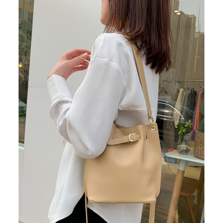 秋新作 ベルト2wayバッグ ショルダー ハンド 2way バッグ 鞄 ベルト ナチュラル 上品 トレンド 韓国ファッションレディース 4
