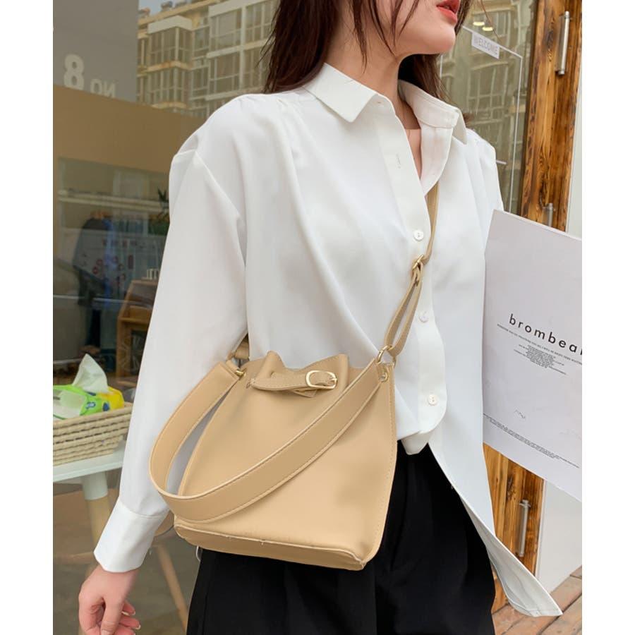 秋新作 ベルト2wayバッグ ショルダー ハンド 2way バッグ 鞄 ベルト ナチュラル 上品 トレンド 韓国ファッションレディース 5