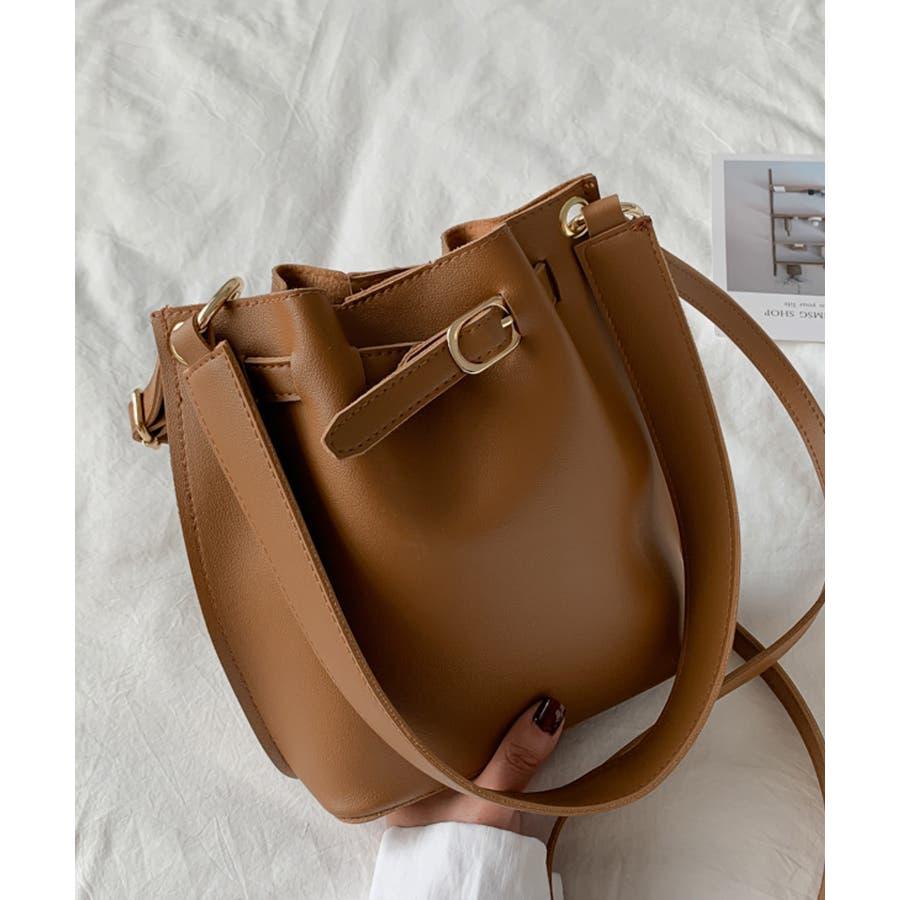 秋新作 ベルト2wayバッグ ショルダー ハンド 2way バッグ 鞄 ベルト ナチュラル 上品 トレンド 韓国ファッションレディース 21