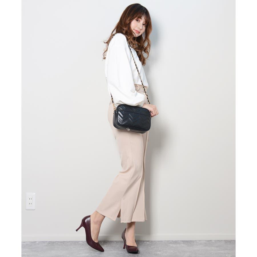 秋新作 ピンタックプレスパンツ シンプル ピンタック プレス パンツ トレンド レディース 韓国ファッション 流行 6