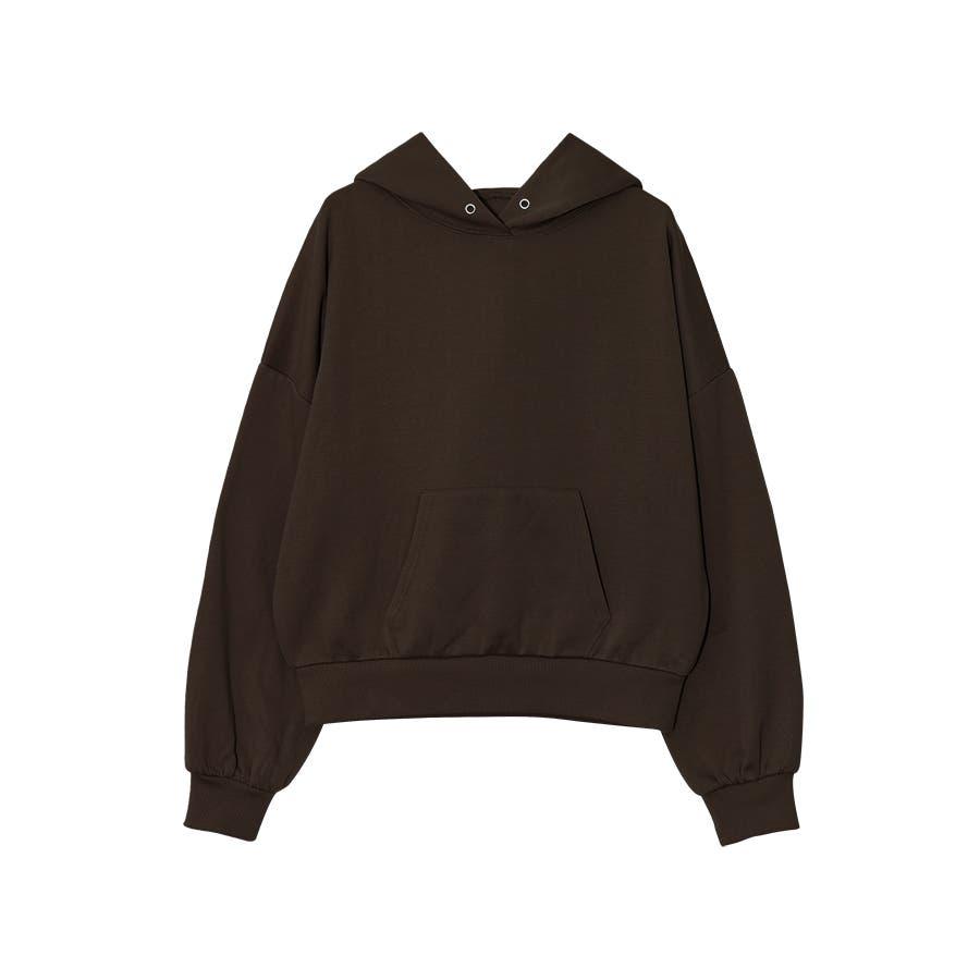 裏起毛オーバーサイズスウェットパーカー/大きめ/長袖/ゆるパーカー 29