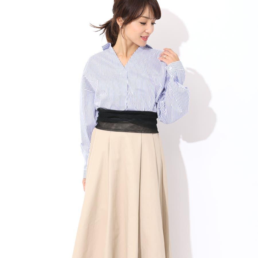 ストライプスキッパーシャツ/トップス/春夏 2