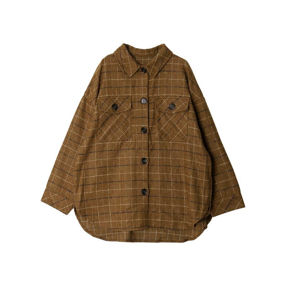 先染め柄ビックCPOシャツ/トップス/秋冬 33