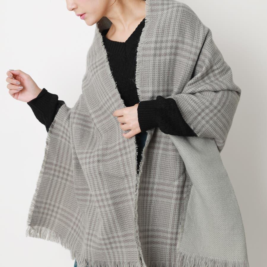 チェックストール/小物/マフラー/秋冬 28