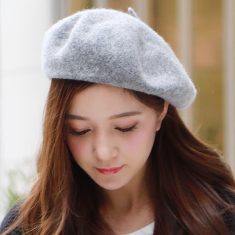 フェルトベレー帽/帽子/小物/アクセサリー/秋冬 5