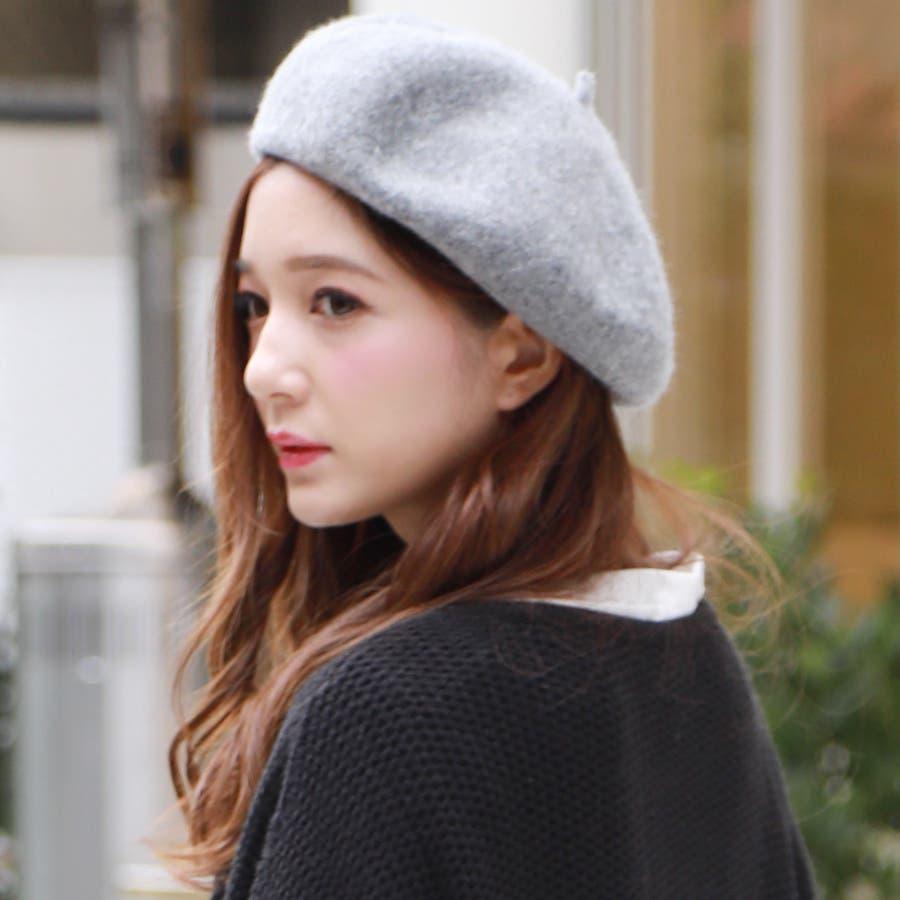 フェルトベレー帽/帽子/小物/アクセサリー/秋冬 6