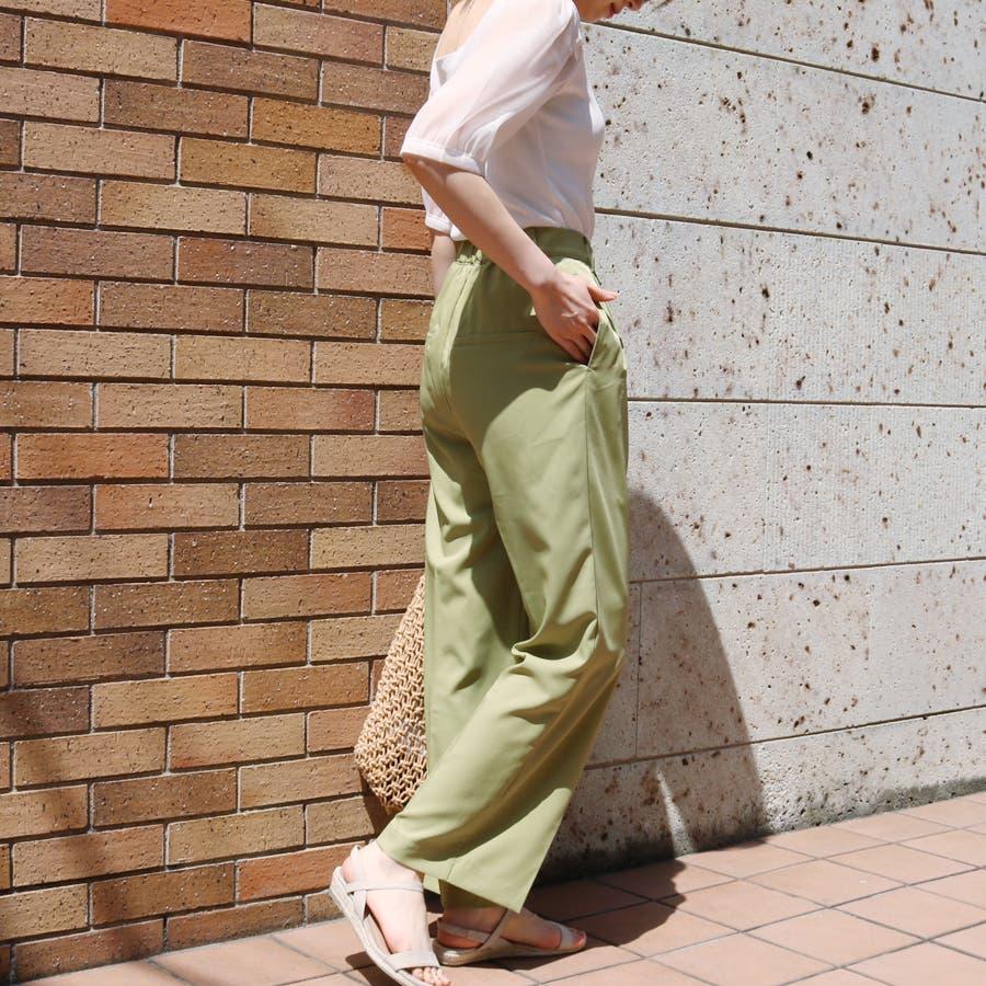 シースルースリーブ2WAYニットトップス/韓国ファッション/シアー素材 7