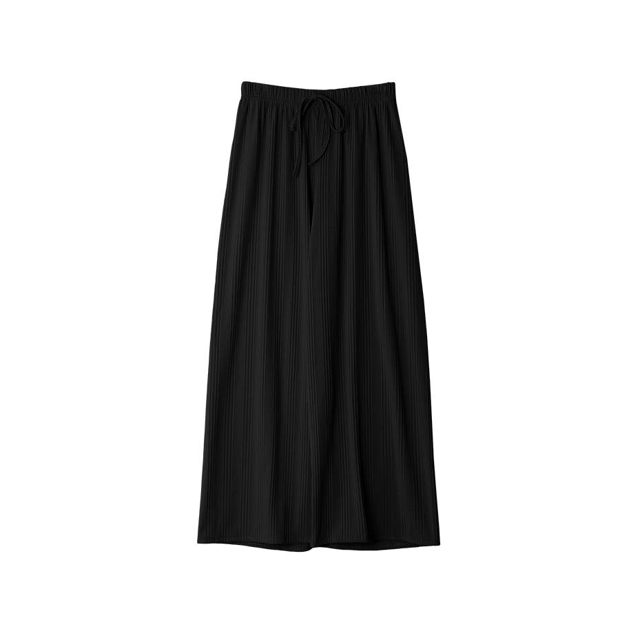 マルチリブワイドパンツ/ルームウェア/韓国ファッション 21