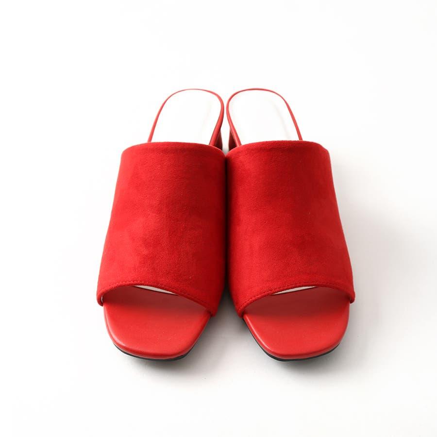 ワンバンドヒールサンダル/シューズ/靴/ミュール/春夏/カラー/ベーシック/シンプル 9