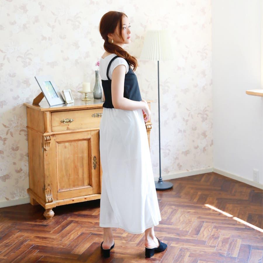 麻混ビスチェ/トップス 6