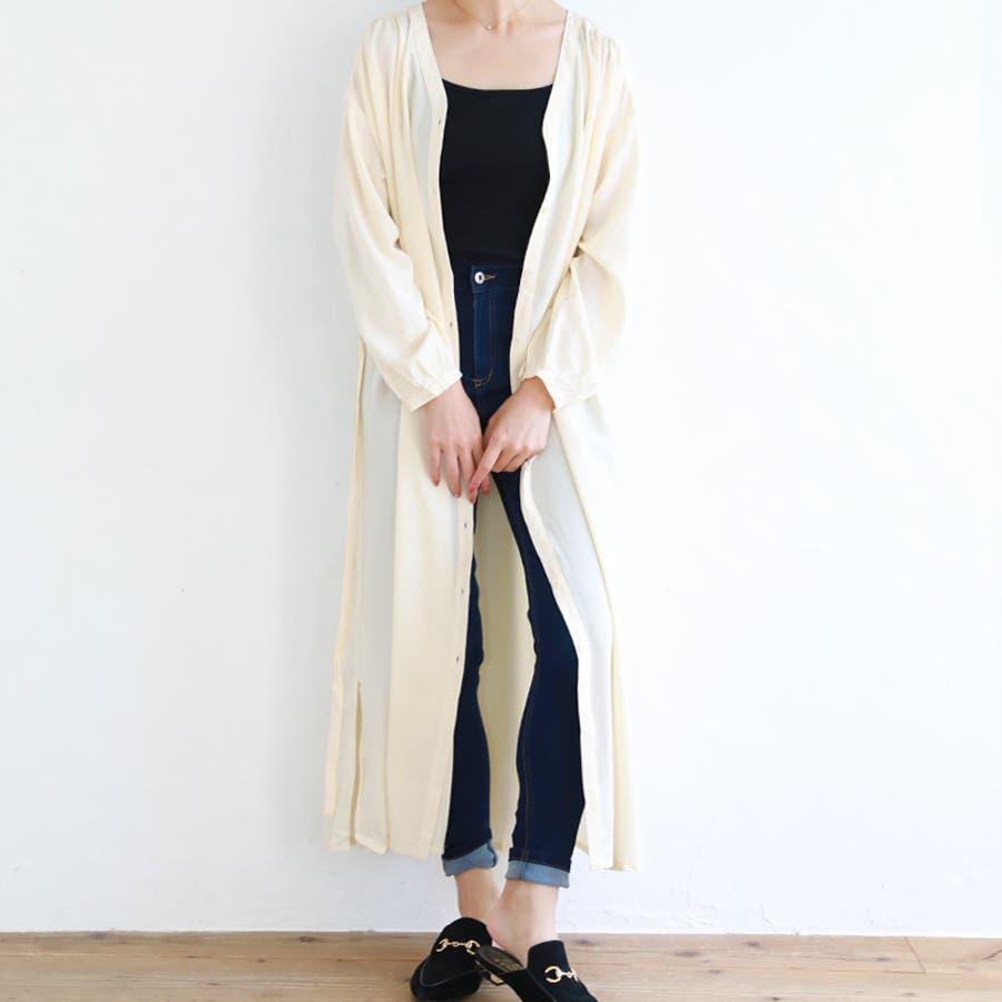 ロングシャツワンピース/秋冬 42