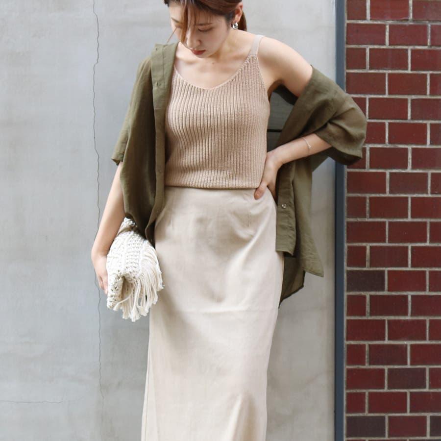 半袖シースルーオーバーサイズシャツ/トップス/シアー素材 53