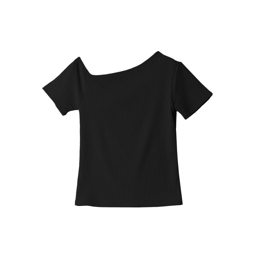 テレコアシメTシャツ/トップス 21