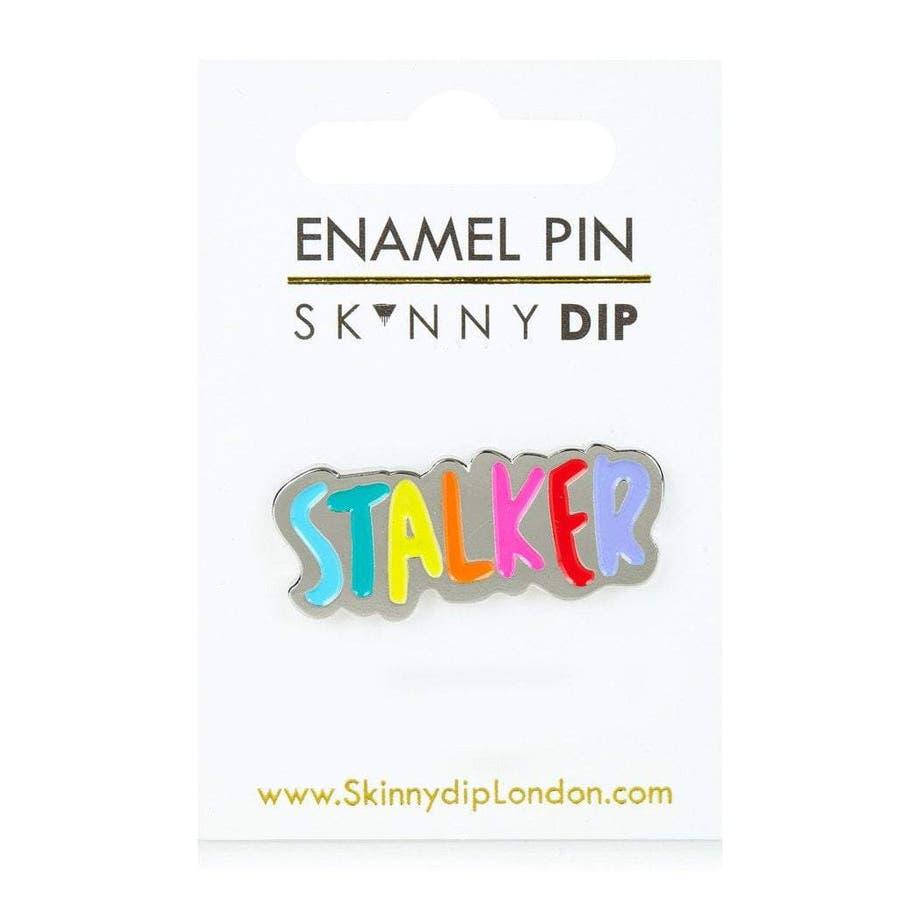 SKINNYDIP エナメルピン ストーカー 3