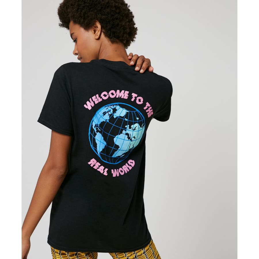 SKINNYDIP Tシャツ Welcome to the real world 21