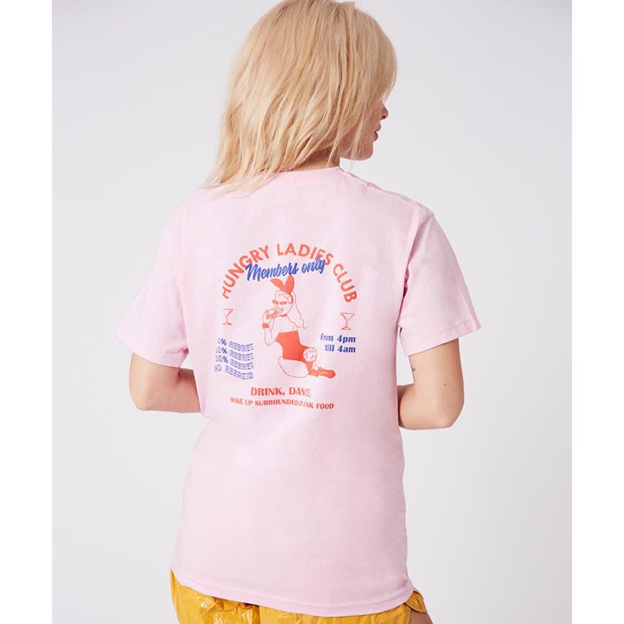 SKINNYDIP Tシャツ HUNGRY LADIES CLUB T 87