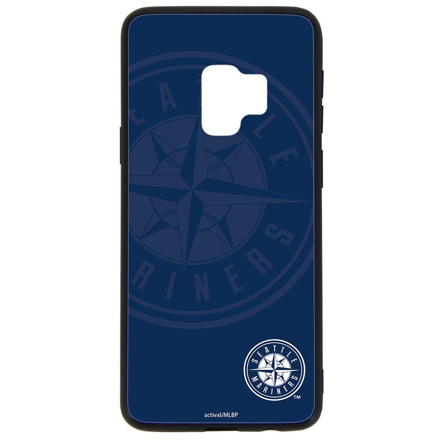 c0102cc550 Galaxy S9 ケース MLB SC-02K SCV38 カバー ギャラクシーs9 sc02k 背面ガラス ブランド 携帯
