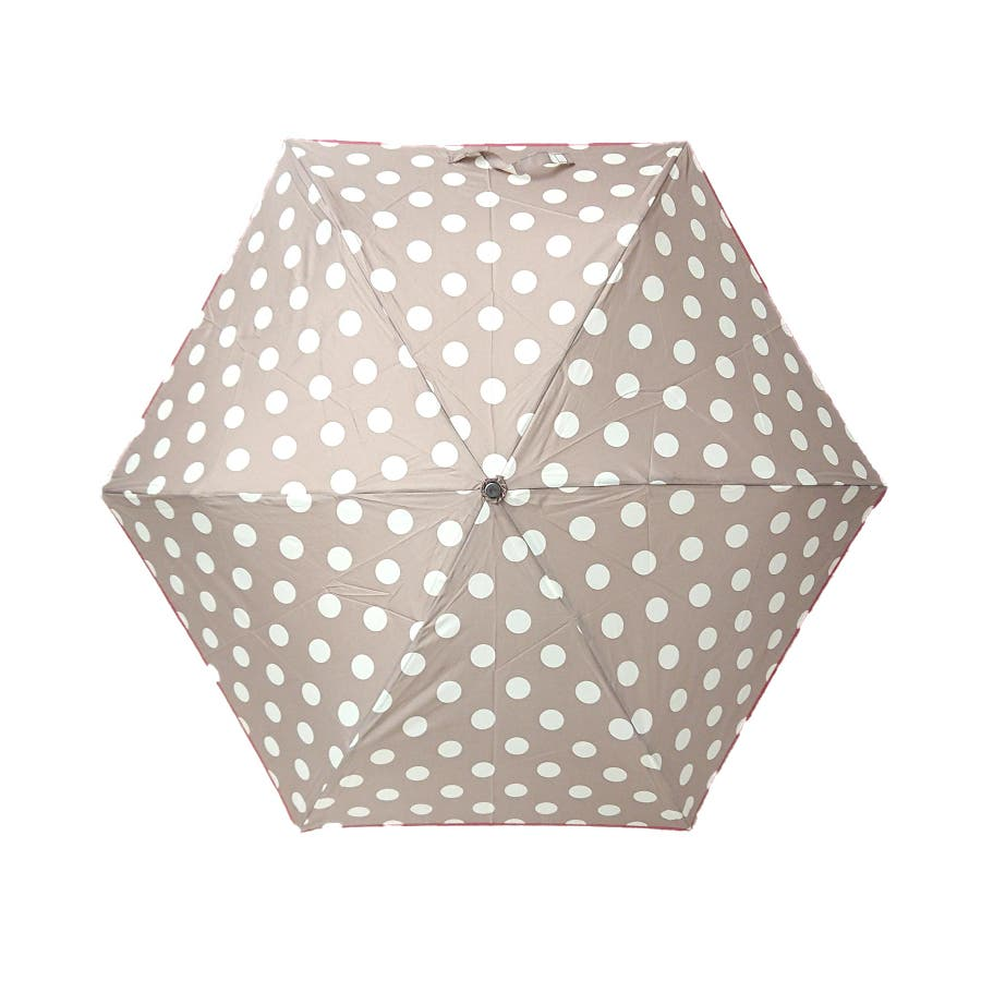 折り畳み式 コインドット柄雨傘 110