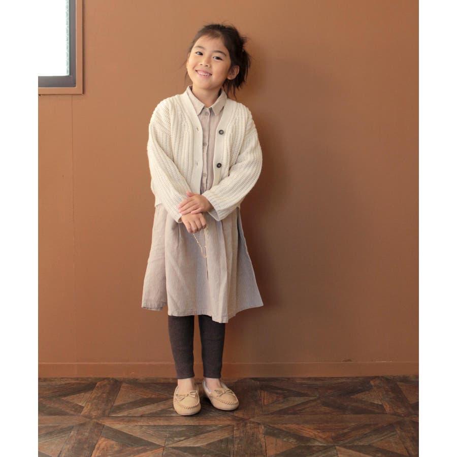 【ママとお揃い】ファーモカシンシューズ (KIDS) 4