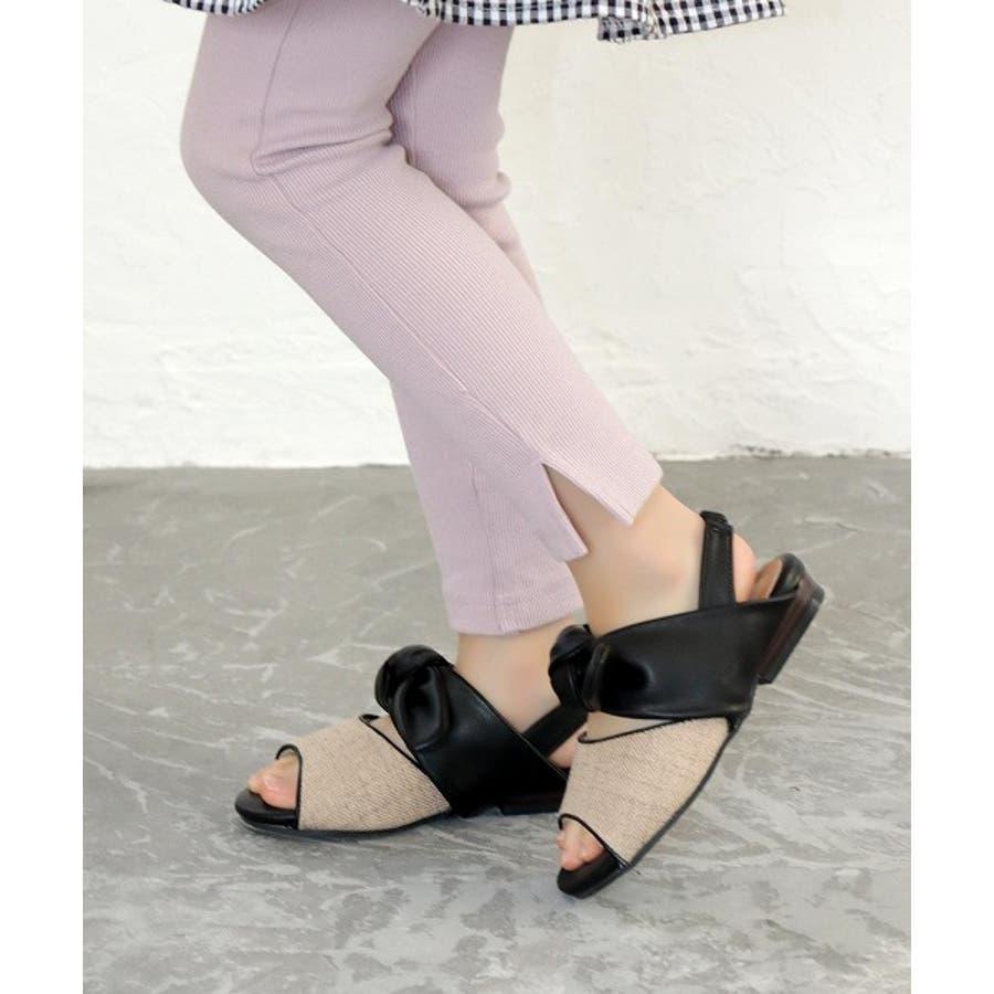 【ママとお揃い】ビッグリボンサンダル (KIDS) 7