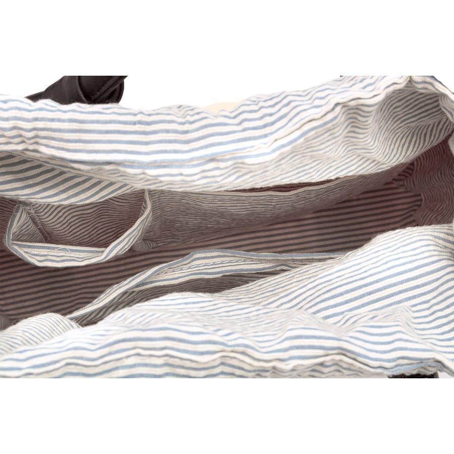 巾着 かごバッグ 浴衣 着物 和装 サマーバッグ レディース 籠 籐 夏 ナチュラル ベージュ ブルー 青 ストライプ 和洋兼用 6