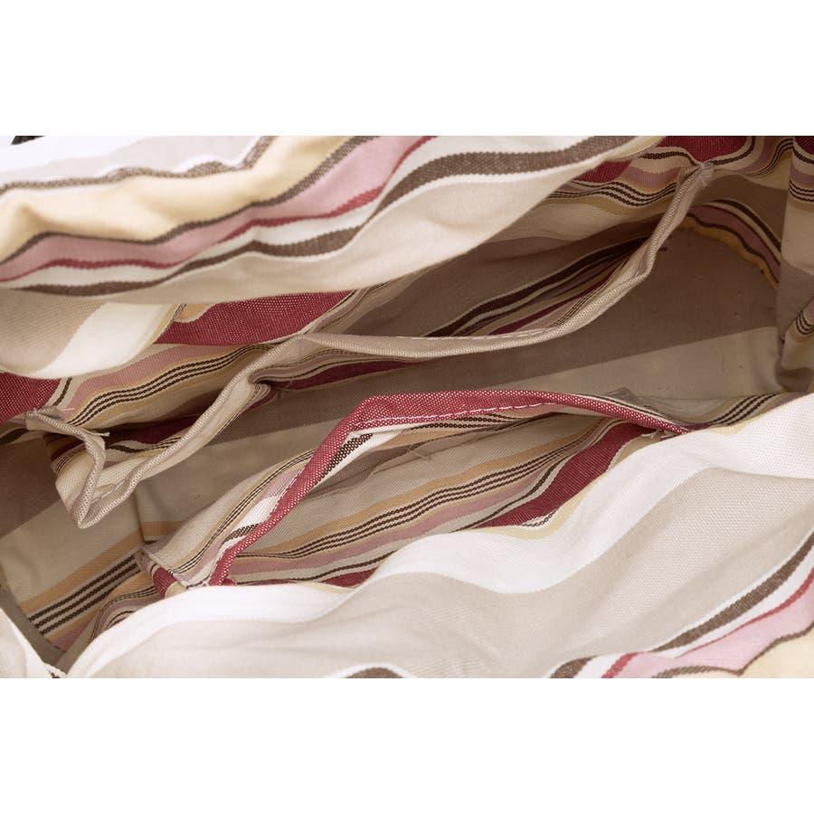 巾着 かごバッグ 浴衣 着物 和装 サマーバッグ レディース 籠 籐 夏 ナチュラル ピンク系 ベージュ グレー ストライプ 和洋兼用 6