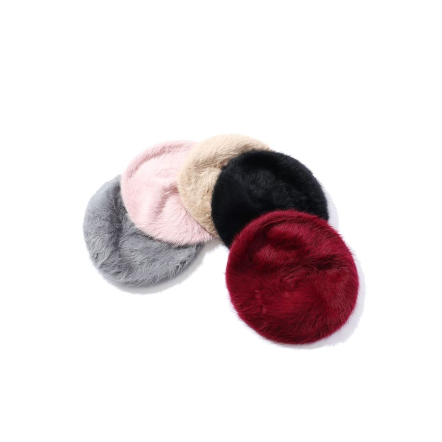 アンゴラベレー帽 1