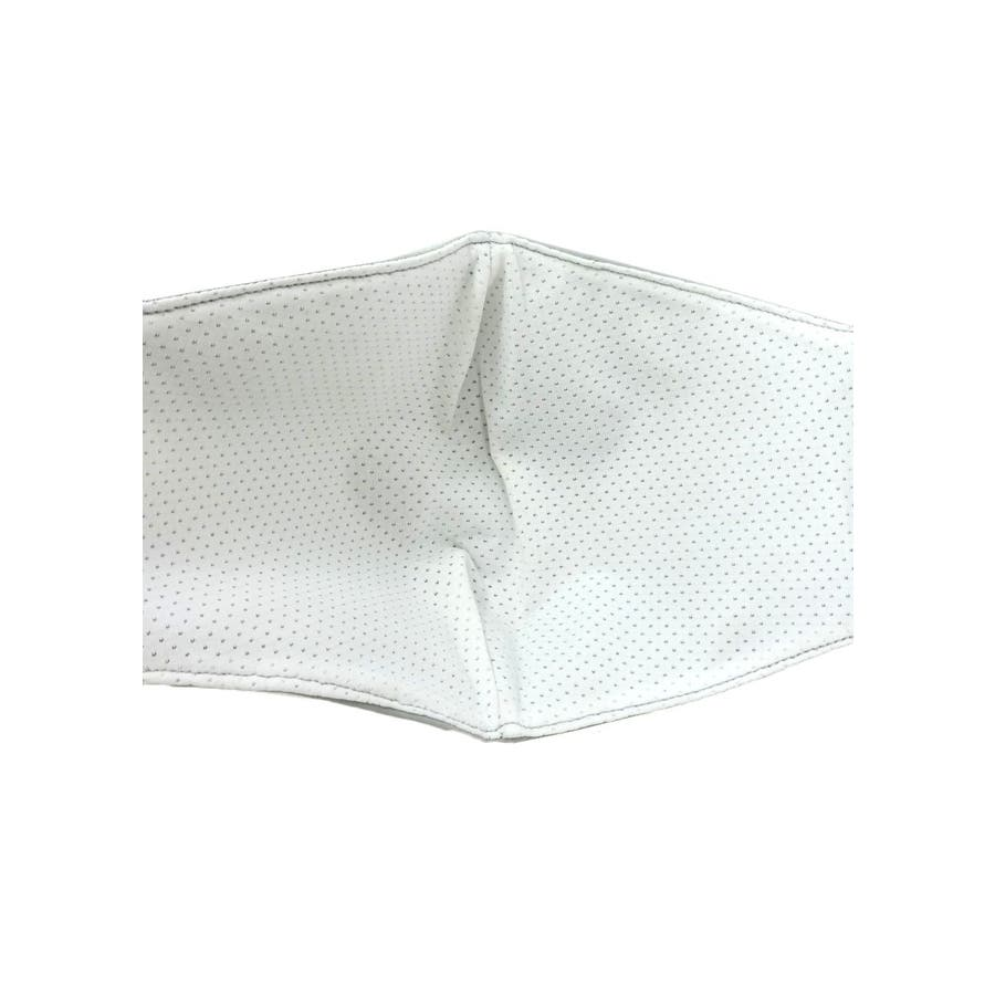 冷感マスク/夏に快適 メンズ レディース ユニセックス 涼しい ひんやり 柔らかい 洗える シンプル 夏用 ベージュ グレー ホワイト白 スピンズ spinns 4