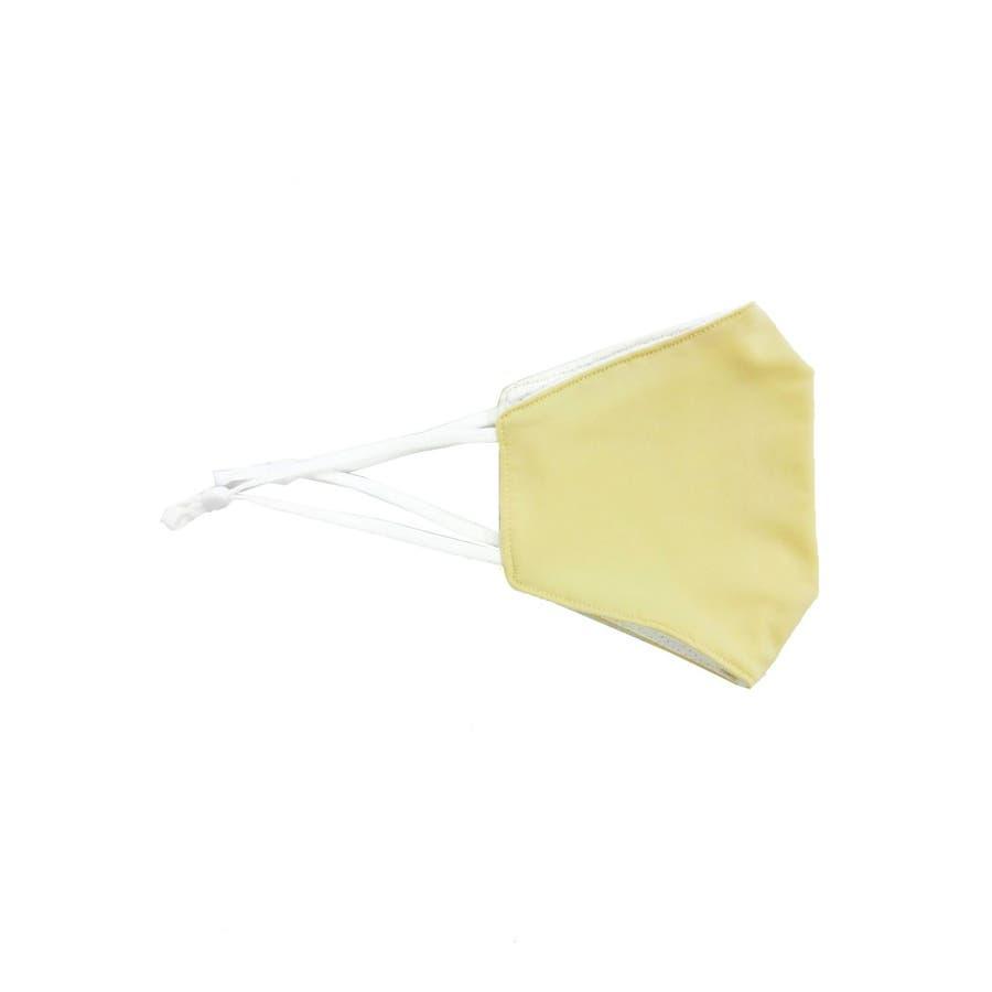 冷感マスク/夏に快適 メンズ レディース ユニセックス 涼しい ひんやり 柔らかい 洗える シンプル 夏用 ベージュ グレー ホワイト白 スピンズ spinns 5