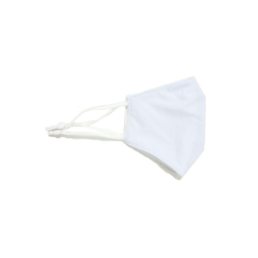 冷感マスク/夏に快適 メンズ レディース ユニセックス 涼しい ひんやり 柔らかい 洗える シンプル 夏用 ベージュ グレー ホワイト白 スピンズ spinns 7
