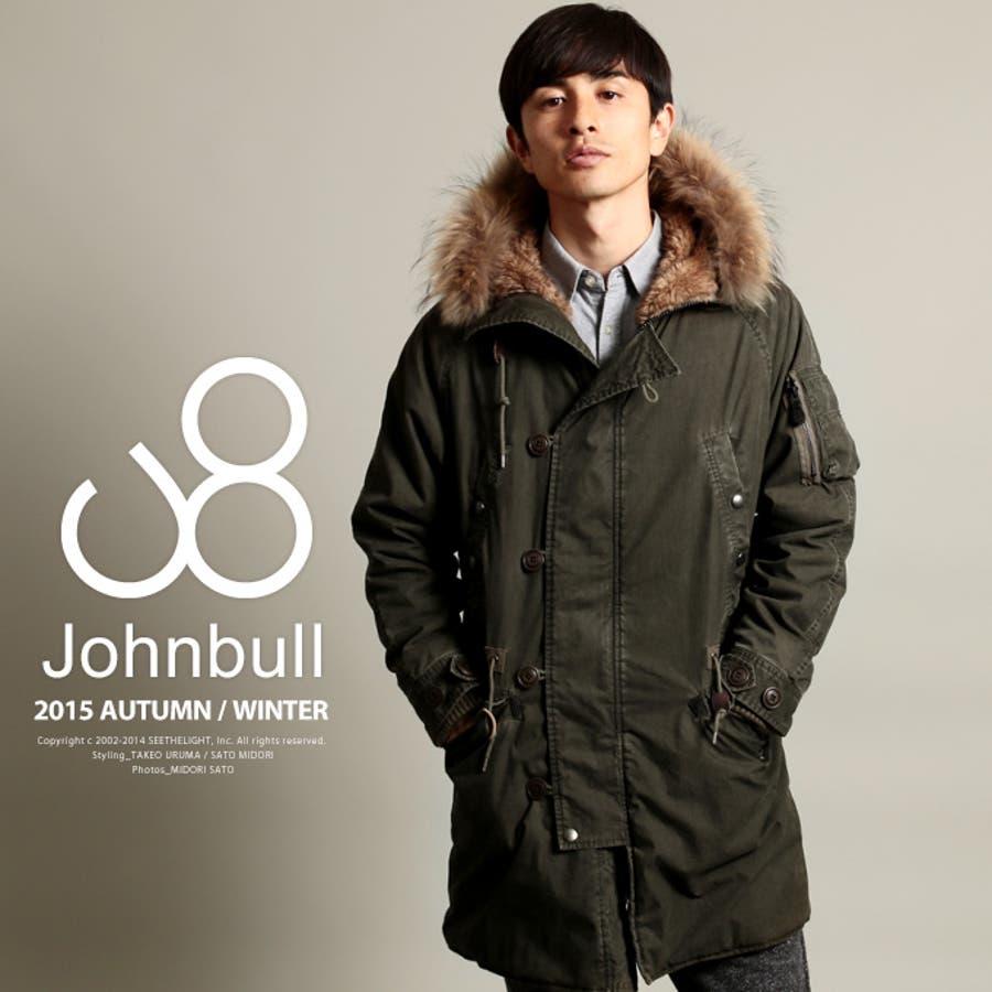 合わせやすい! メンズファッション通販Johnbull ジョンブル 顔料C Nオックス N-3B ジャケット16475 罰金