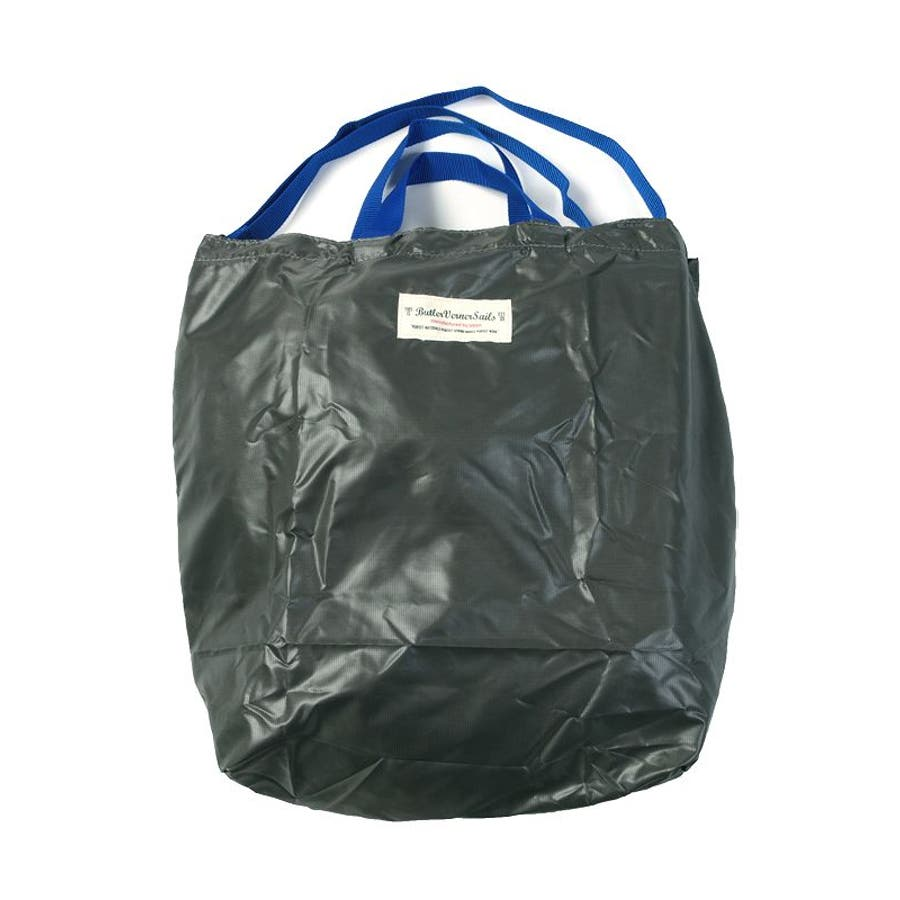 ポケッタブル トートバッグ 日本製 リップナイロン エコバッグ 折り畳み 旅行用バッグ Butler Verner Sails メンズレディース ユニセックス 5