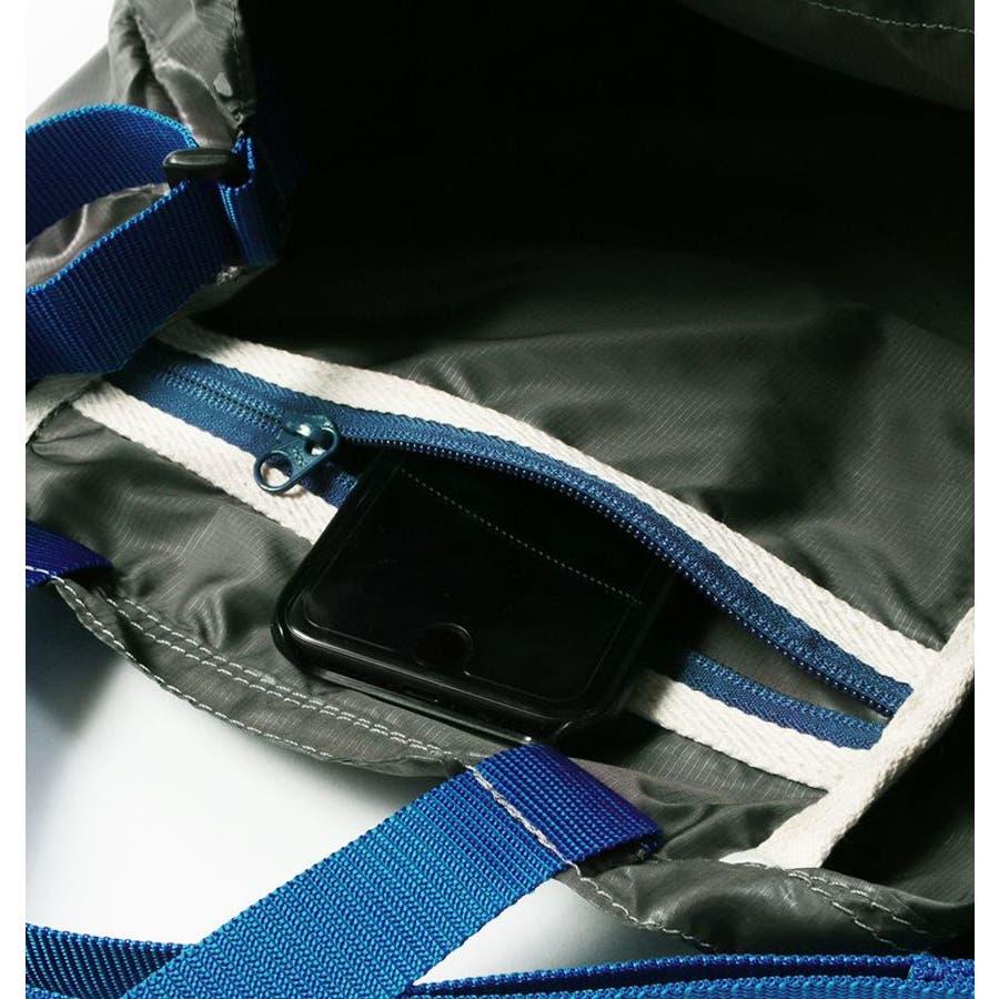ポケッタブル トートバッグ 日本製 リップナイロン エコバッグ 折り畳み 旅行用バッグ Butler Verner Sails メンズレディース ユニセックス 8