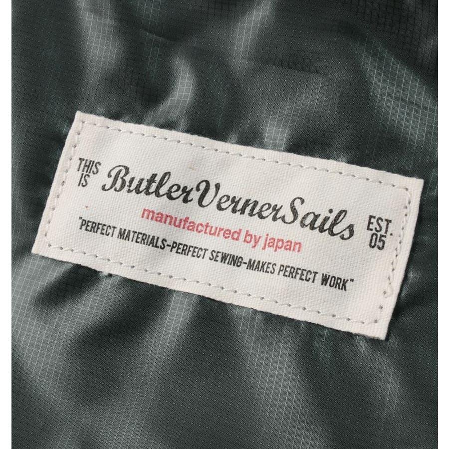 ポケッタブル トートバッグ 日本製 リップナイロン エコバッグ 折り畳み 旅行用バッグ Butler Verner Sails メンズレディース ユニセックス 9