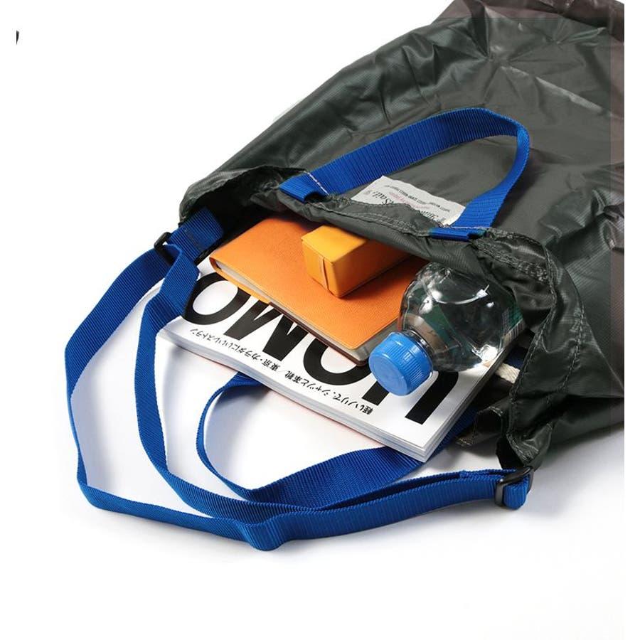 ポケッタブル トートバッグ 日本製 リップナイロン エコバッグ 折り畳み 旅行用バッグ Butler Verner Sails メンズレディース ユニセックス 10