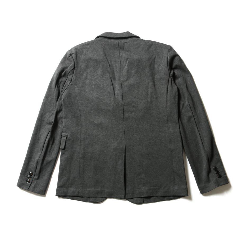 メンズ ジャケット メンズファッション シルケット モック ミラノリブ 2B テーラード ジャケット AUDIECNE オーディエンス 8