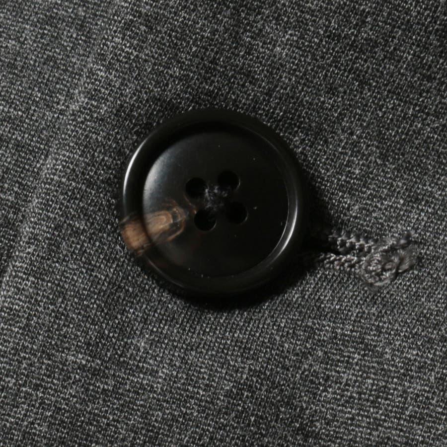メンズ ジャケット メンズファッション シルケット モック ミラノリブ 2B テーラード ジャケット AUDIECNE オーディエンス 10
