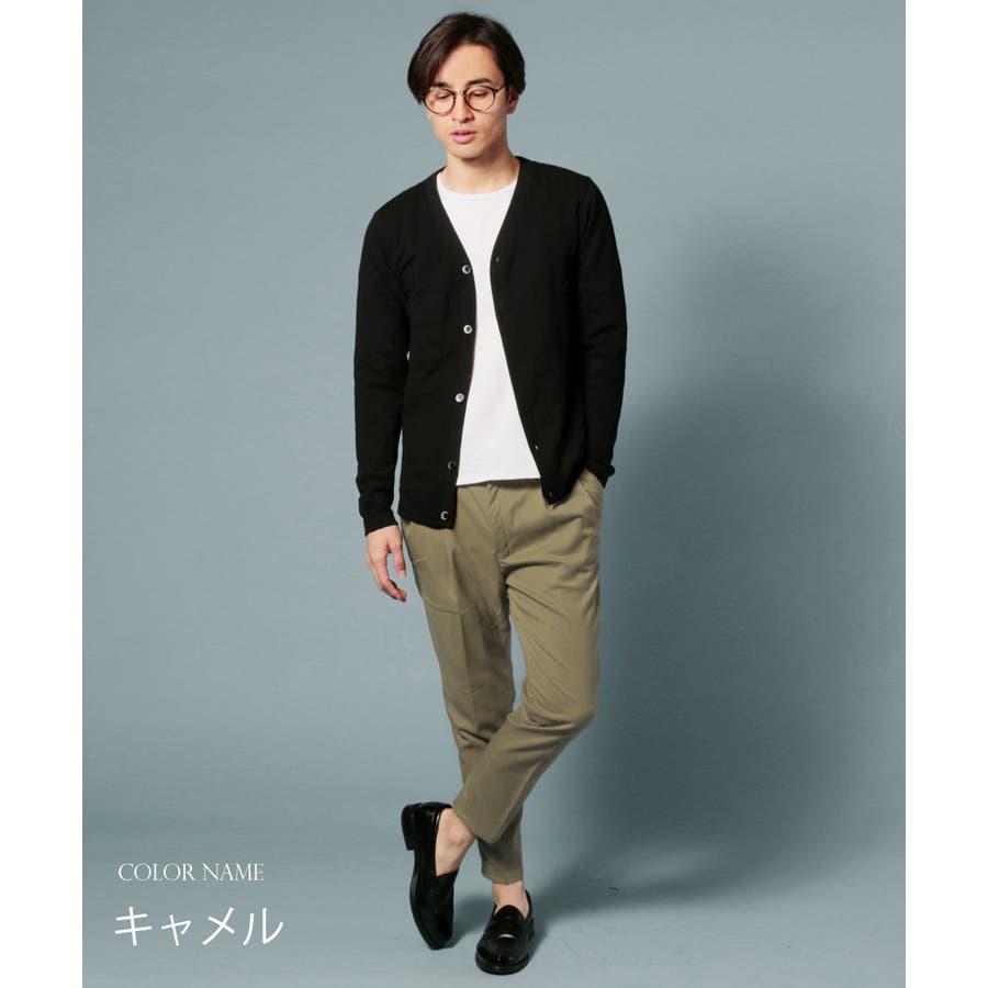 メンズ パンツ メンズファッション 日本製 ギャバジン ストレッチ イージー アンクル パンツ セットアップ UpscapeAudience アップスケープ オーディエンス 7