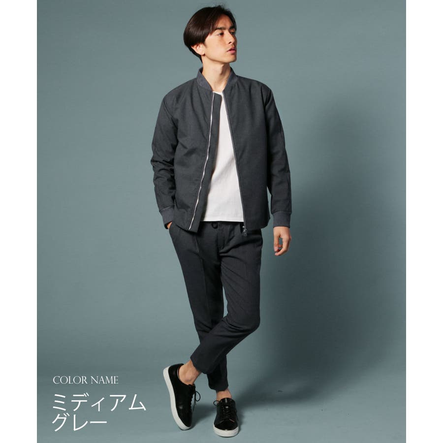 メンズ パンツ メンズファッション 日本製 ギャバジン ストレッチ イージー アンクル パンツ セットアップ UpscapeAudience アップスケープ オーディエンス 9