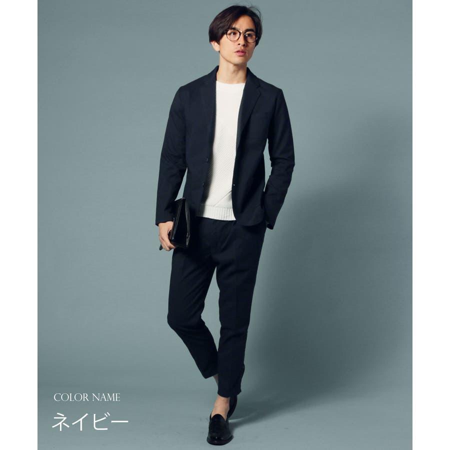 メンズ パンツ メンズファッション 日本製 ギャバジン ストレッチ イージー アンクル パンツ セットアップ UpscapeAudience アップスケープ オーディエンス 10