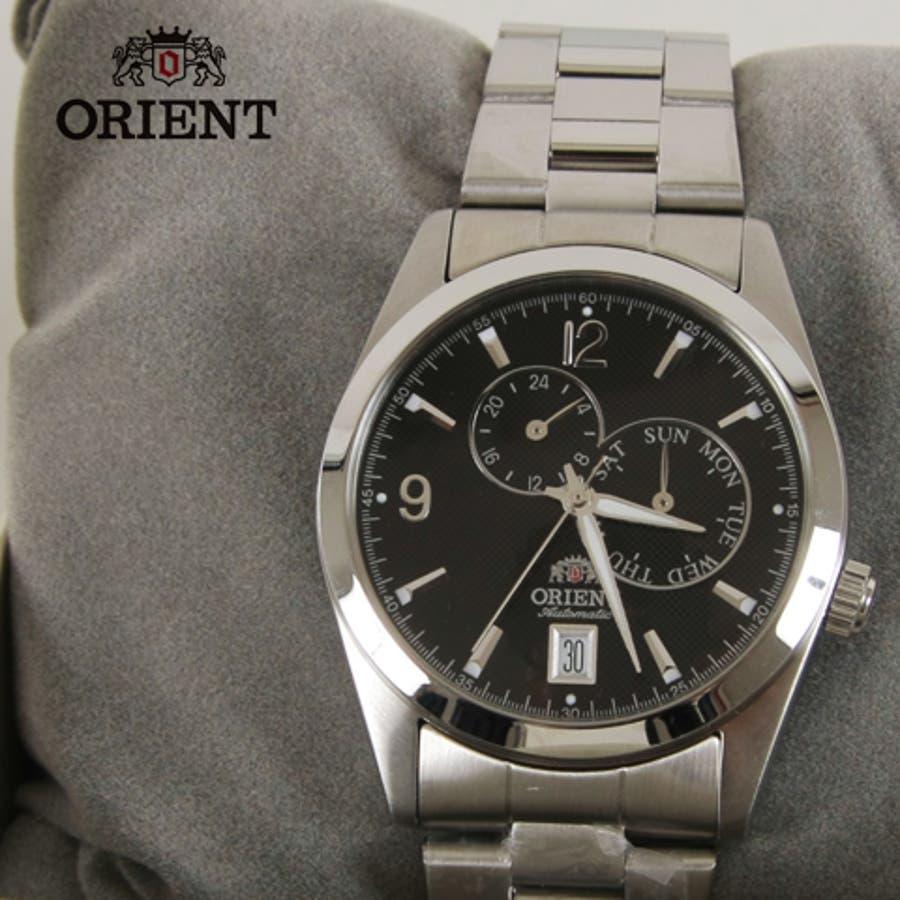 orient オリエント automatic自動巻きマルチカレンダー腕時計海外モデル