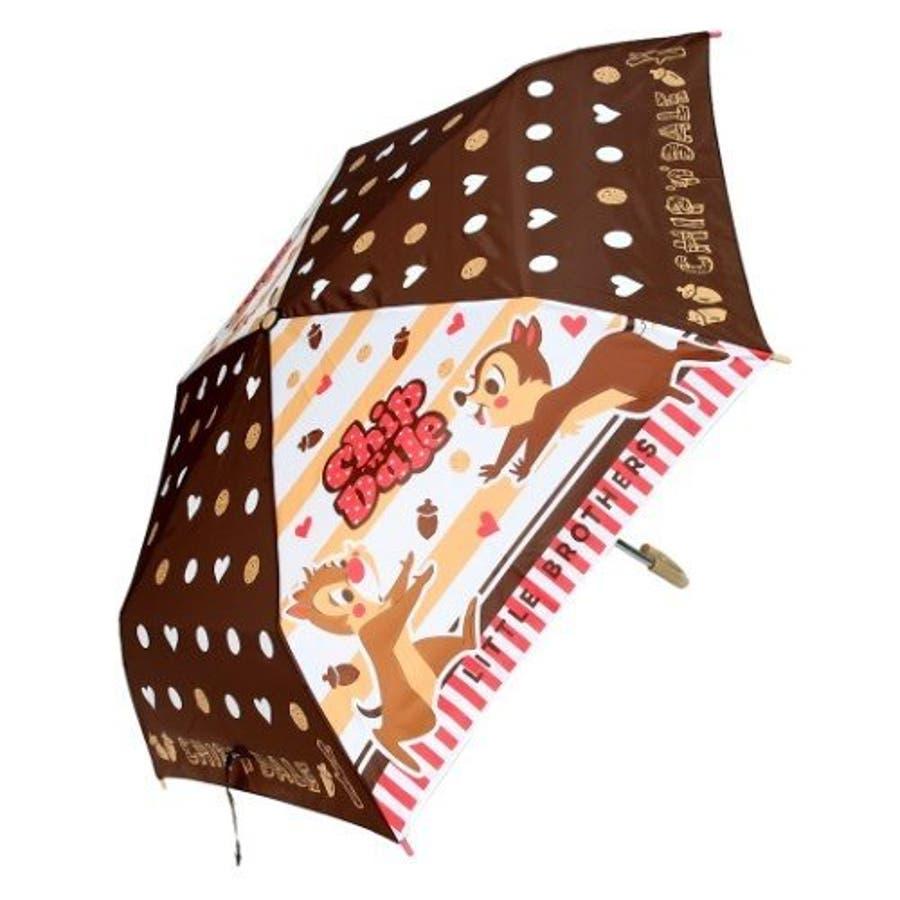 チップ&デール ドット 折りたたみ傘 グッズ ディズニー 折り畳み傘 新商品 子ども 男の子 女の子 カサ かさ プレゼント雑貨 雨 クリスマス ギフト 7