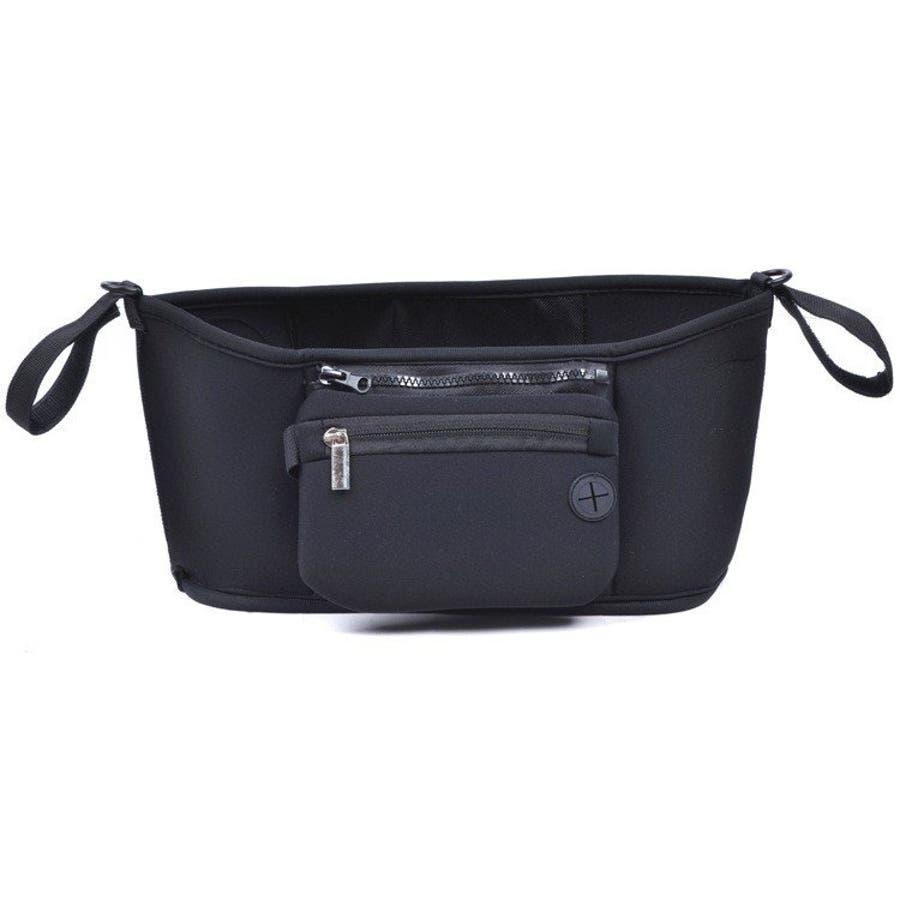 ベビーカー バッグ 使いやすい 小物入れ ドリンクホルダー マザーズバッグ 収納バッグ 取り付け シンプル おしゃれ 便利 コンパクト多機能 10