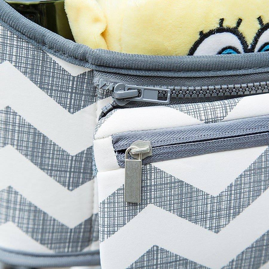 ベビーカー バッグ 使いやすい 小物入れ ドリンクホルダー マザーズバッグ 収納バッグ 取り付け シンプル おしゃれ 便利 コンパクト多機能 9