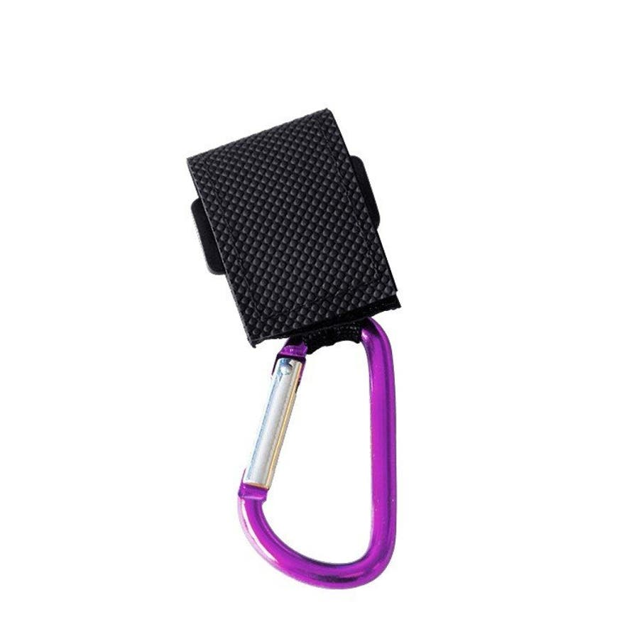 ベビーカー フック カラビナフック マルチフック 使いやすい マジックテープ式 シンプル 荷物掛け 15kg 2個セット便利簡単取り付け 全6色 7
