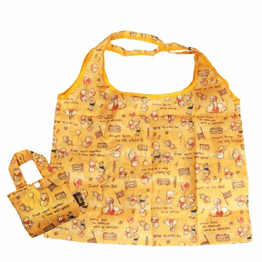 プー エコバッグ ディズニー ハニー おしゃれ 折り畳み キャラクター 収納 ミニバッグ 可愛い 買い物バッグ クラシック お出かけコンビニ ショッピング 1